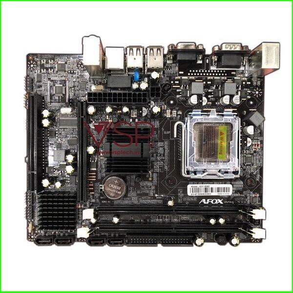 (NEW SALE) Main AFOX- loại Socket 775, Intel® G31 - 14088552 , 2287036051 , 322_2287036051 , 1598000 , NEW-SALE-Main-AFOX-loai-Socket-775-Intel-G31-322_2287036051 , shopee.vn , (NEW SALE) Main AFOX- loại Socket 775, Intel® G31