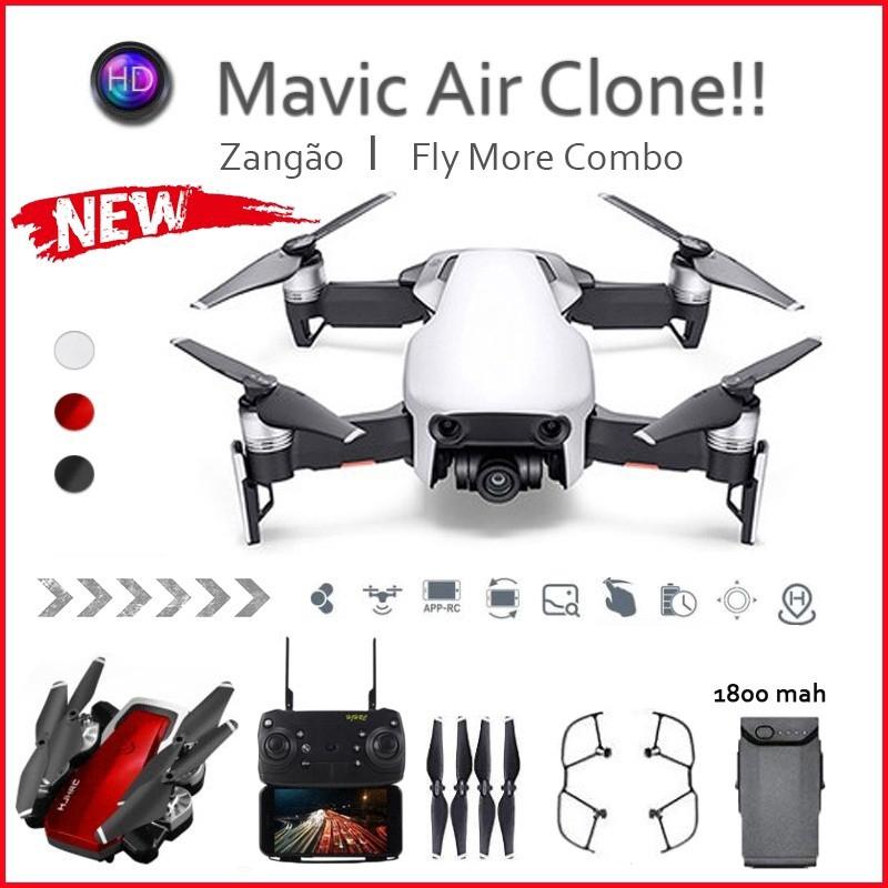 [Mã FSS09JAN hoàn 20% XU đơn từ 0đ]Bộ camera flycam điều khiển từ xa chuyên nghiệp pin 1800mAh tiện dụng