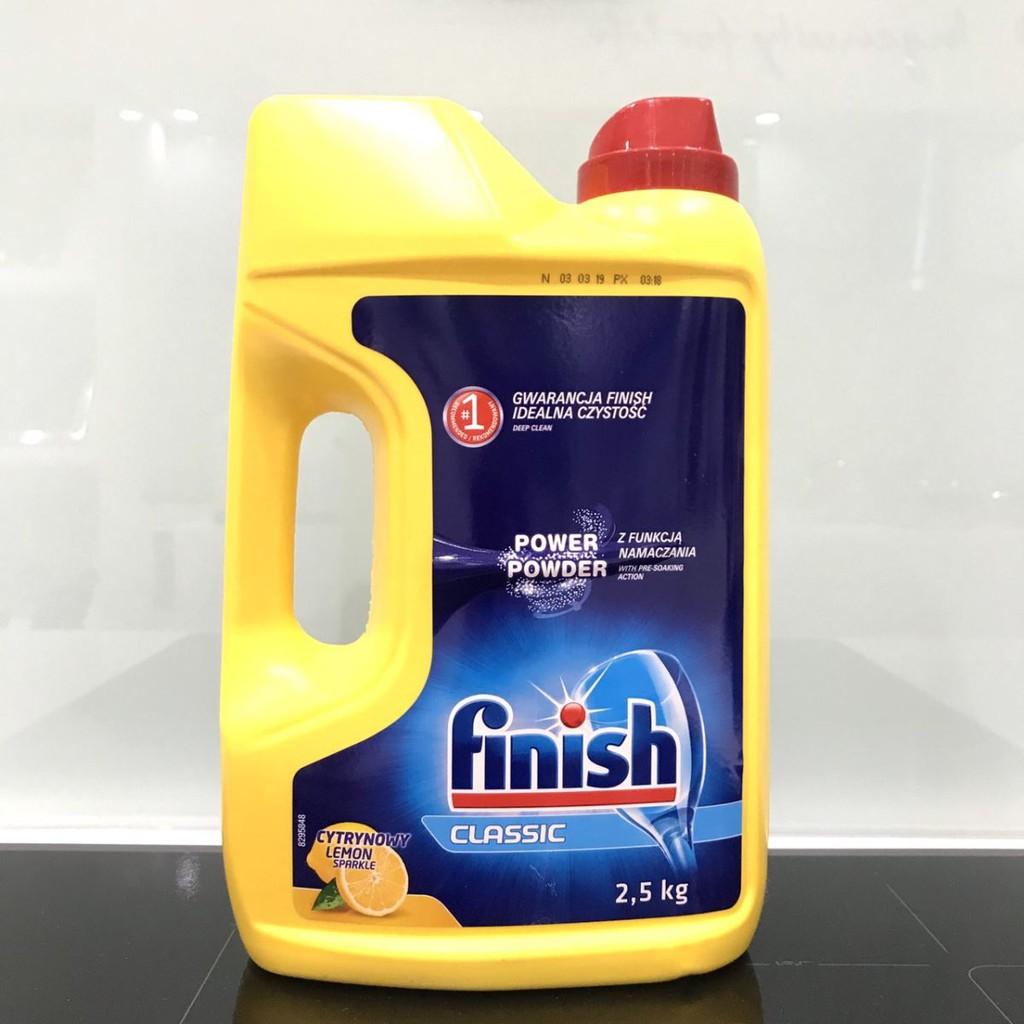Bột Rửa Bát Finish Chuyên Dụng Dùng Cho Máy Rửa Chén Bát