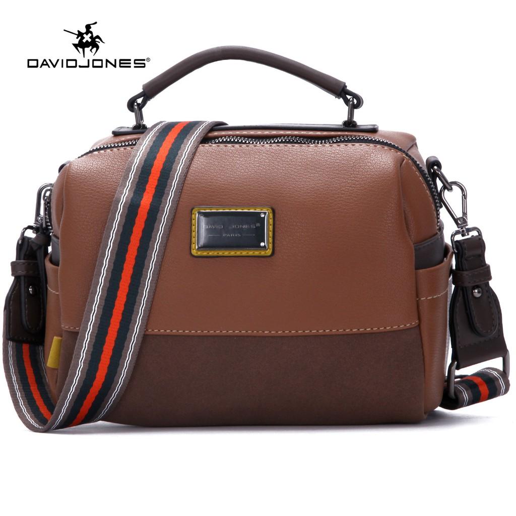 Túi đeo chéo DAVIDJONES phong cách thời trang Paris cho