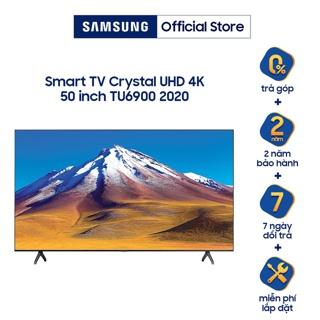 Smart Tivi Samsung Crystal UHD 4K 50 inch UA50TU6900KXXV - Model 2020 - Miễn phí lắp đặt