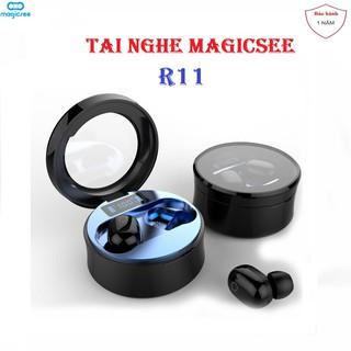 Tai Nghe Bluetooth không Dây True Wireless Magicsee R11 TWS - Chống nước IP67, Khử ồn - Nghe nhạc liên tục 5h