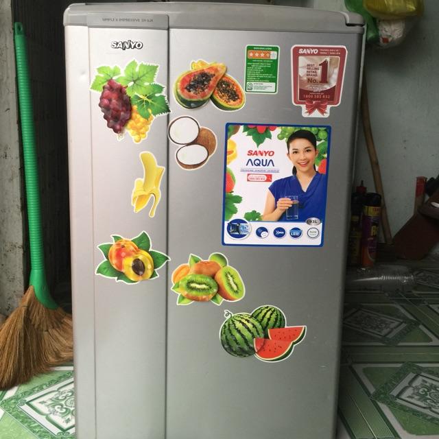 Tủ lạnh sanyo 93lit sử dụng 1 năm còn mới 90%