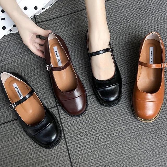 Giày búp bê vintage