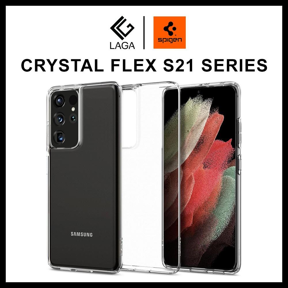 3. Ốp Lưng Spigen Crystal Flex Samsung Galaxy S21 Ultra / S21 Plus 5G