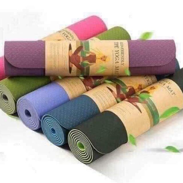Thảm tập yoga loại xịn - 14376878 , 2614531980 , 322_2614531980 , 135000 , Tham-tap-yoga-loai-xin-322_2614531980 , shopee.vn , Thảm tập yoga loại xịn