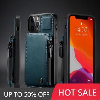 Bao Da Nắp Gập Có Ngăn Để Thẻ Cho Iphone 12 Mini / Iphone 12 / Iphone 12 Pro / Iphone 12 Pro Max