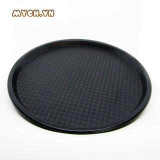 Mâm nhựa tròn chống trơn trượt MNTCT, chất liệu nhựa PP, KT 33cm.
