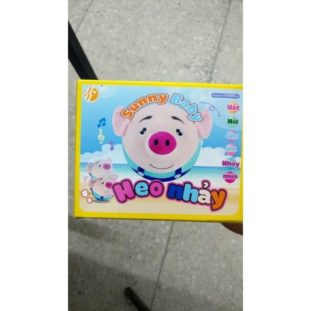 [Mã Giảm 15k đơn tối thiểu 100k] Heo Nhảy, Biết Nhại Giọng của Bé, Hát Nhạc Việt Nam - Sunny.Kids...