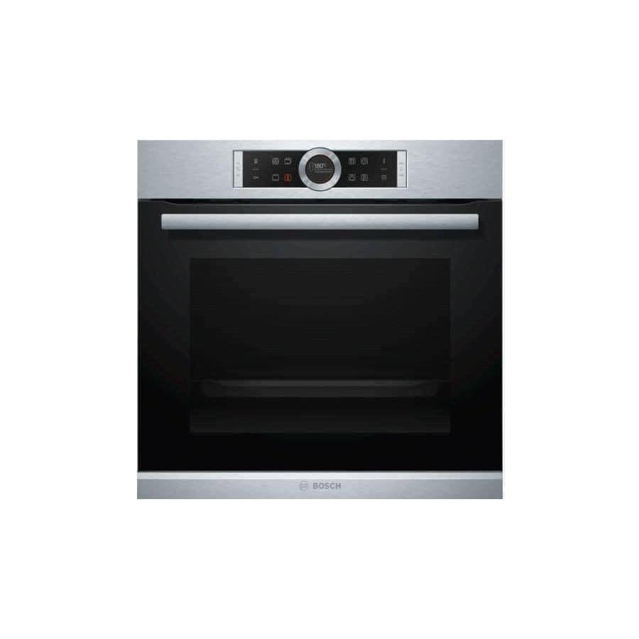 LÒ NƯỚNG BOSCH HBG675BS1 Serie 8 thế hệ mới nhất công nghệ nướng 4D kèm 10 công thức nấu tự động