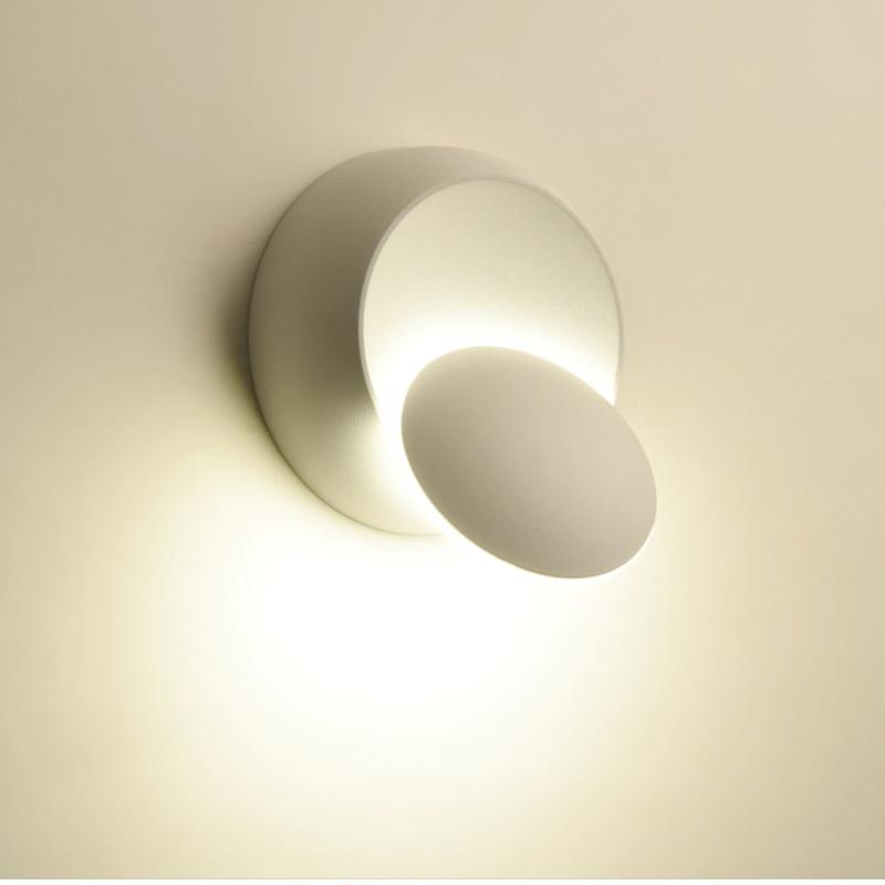 Đèn Led Gắn Tường Xoay 360 Độ Thiết Kế Hiện Đại