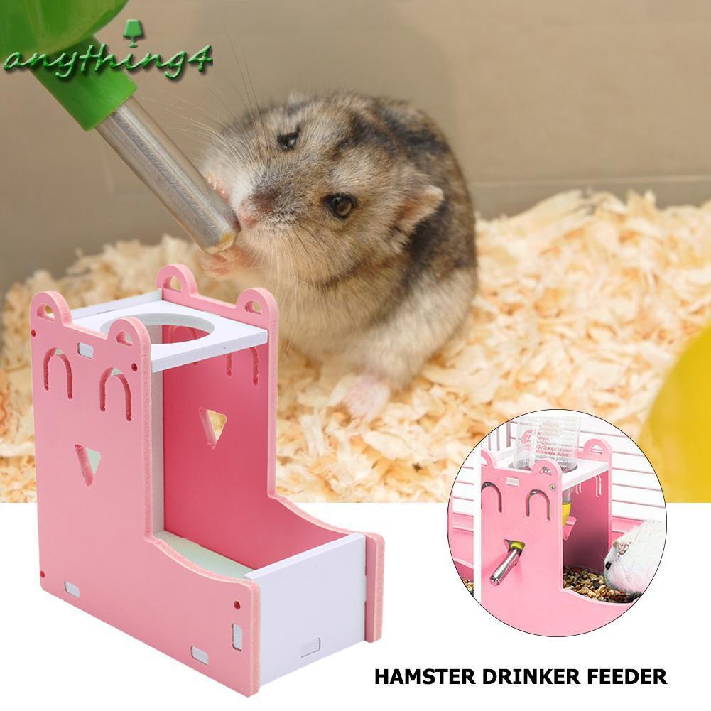 ♚any♚Hamster Automatic Water Fountain Drinker Food Feeder Samll Animal Nest