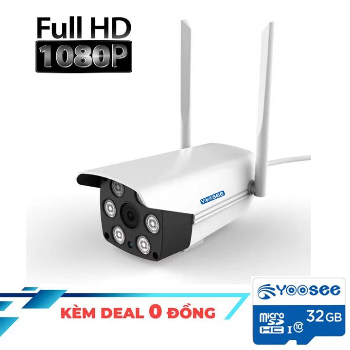 Camera giám sát không dây YOOSEE Ngoài trời FULL HD 1080P - Tặng thẻ nhớ Yoosee 32G