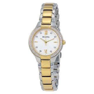 Đồng hồ Nữ Bulova Dây Kim Loại 98R221 thumbnail