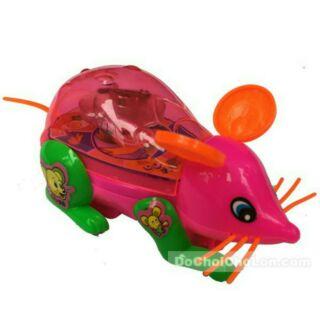 Chuột chạy bằng dây cót