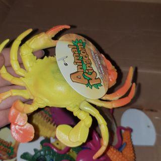 Bộ 12 con sinh vật biển nhựa