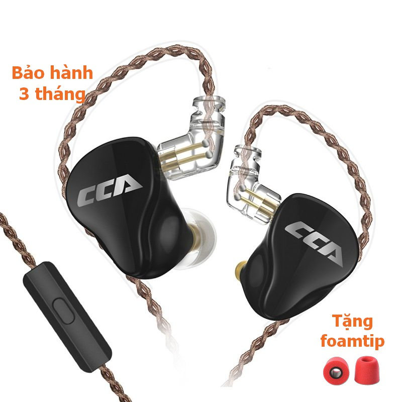 [NC] Tai Nghe CCA CA16 Kiểm Âm Nhét Tai Hybrid 16 Driver In Ear Hifi | Nhấn Bass | Pop Rock Dane EDM | Có Mic