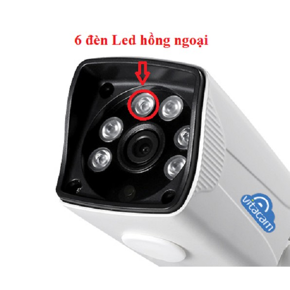Camera IP Wifi ngoài trời VITA VB720 - Chuẩn HD720 - Chống nước IP66 - 3243064 , 887865523 , 322_887865523 , 649000 , Camera-IP-Wifi-ngoai-troi-VITA-VB720-Chuan-HD720-Chong-nuoc-IP66-322_887865523 , shopee.vn , Camera IP Wifi ngoài trời VITA VB720 - Chuẩn HD720 - Chống nước IP66