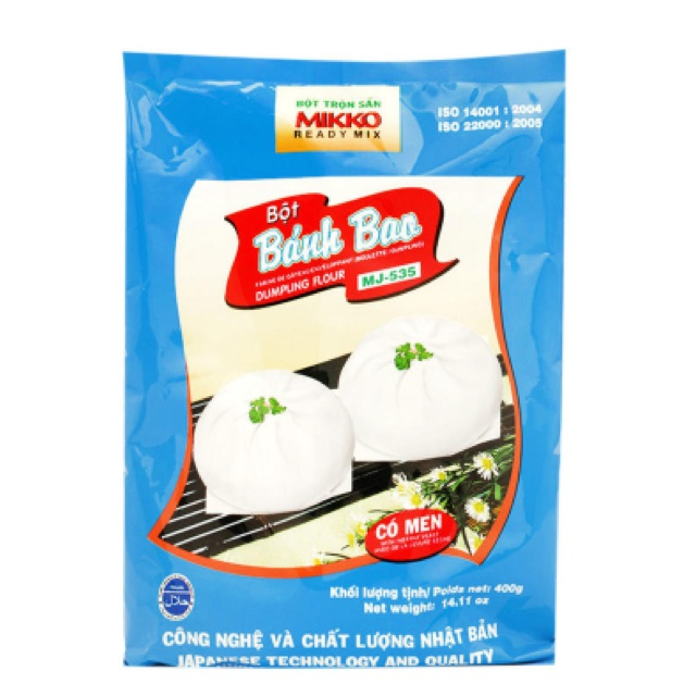 Bột bánh bao mikko 400g - 2554491 , 275365674 , 322_275365674 , 45000 , Bot-banh-bao-mikko-400g-322_275365674 , shopee.vn , Bột bánh bao mikko 400g