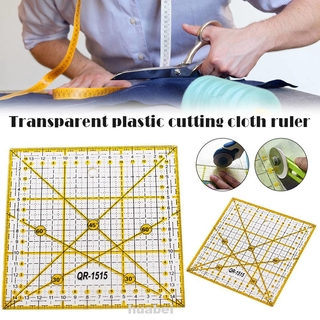 Home Cloth Square Measuring Tool Non Slip DIY Sewing Drawing Angle Gauge Office School Patchwork Ruler