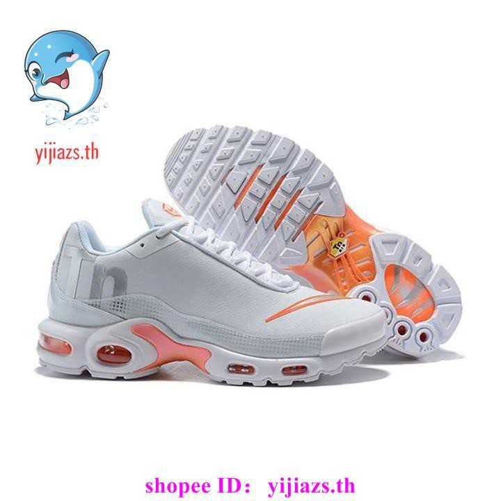cod original NIKE AIR MAX PLUS TN Men's Breathable Running Shoes Sports Sneakers Trainers Outdoor GREY