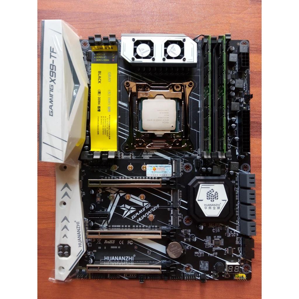 Combo Intel Xeon E5 2678 v3 + Huananzhi X99-TF gaming + Ram ECC DDR3 32G/64G