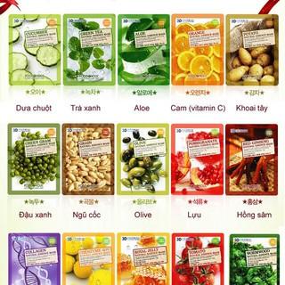 Mặt Nạ Dưỡng Da 3d Food Holic Hàn Quốc ( 10 Miếng ) thumbnail