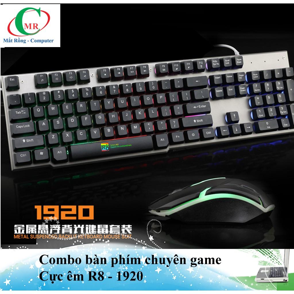 COMBO bàn phím và chuột R8 1920 LED giả cơ chuyên nghiệp Cho game thủ - 3517806 , 771627956 , 322_771627956 , 215000 , COMBO-ban-phim-va-chuot-R8-1920-LED-gia-co-chuyen-nghiep-Cho-game-thu-322_771627956 , shopee.vn , COMBO bàn phím và chuột R8 1920 LED giả cơ chuyên nghiệp Cho game thủ