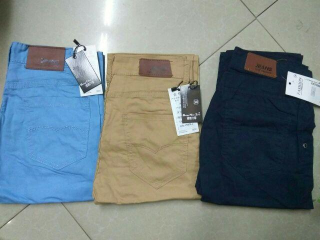 (FREESHIP HN&HCM)Bộ sưu tập Quần kaki hàn quốc 5 màu hot