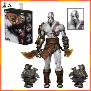 H&S God of War 3 Ultimate Kratos Action Figure Model Toy
