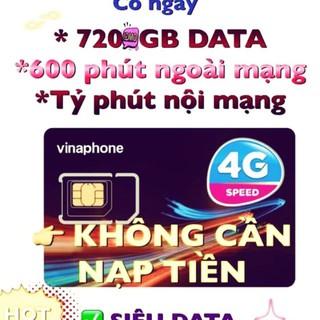 (FREE 12 THÁNG )SIM 4G VINA VD89 TRỌN GÓI 12 THÁNG 720GB VÀ GỌI MIỄN PHÍ
