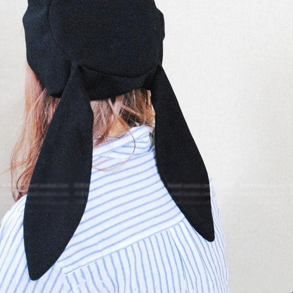 Mũ beret vải tai thỏ (kèm hình thật)