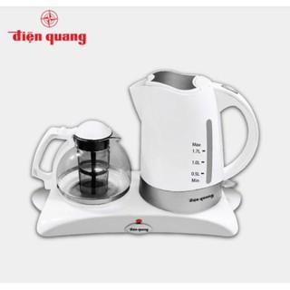 BỘ ẤM ĐUN SIÊU TỐC ĐIỆN QUANG LOẠI TỐT EKT05, bình nấu nước nóng xịn tốt dùng để tiếp khách sang trọng