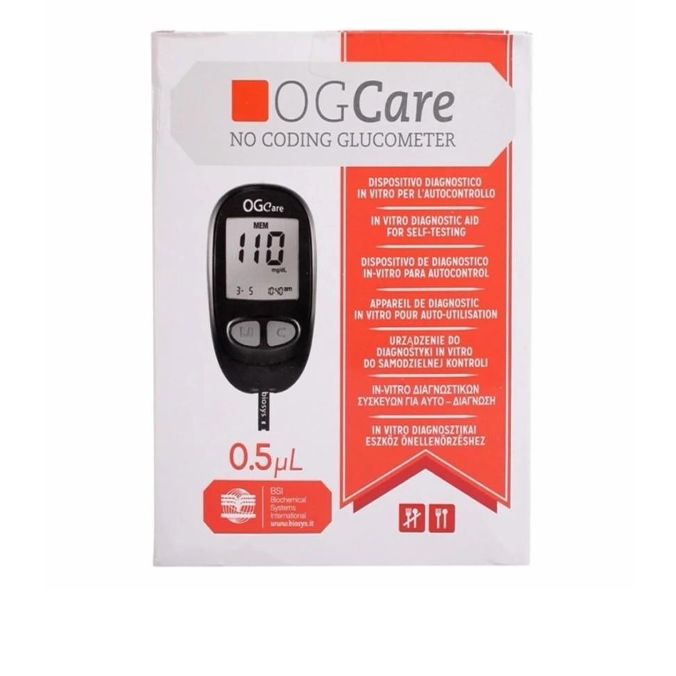 Máy đo đường huyết Ogcare của Ý Made in Italy - Hộp có sẵn 10 que - 3352967 , 433471370 , 322_433471370 , 1250000 , May-do-duong-huyet-Ogcare-cua-Y-Made-in-Italy-Hop-co-san-10-que-322_433471370 , shopee.vn , Máy đo đường huyết Ogcare của Ý Made in Italy - Hộp có sẵn 10 que