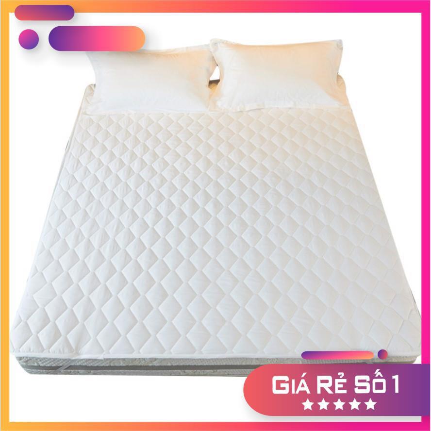 Sale sốc Tấm lót bảo vệ nệm cotton hàn size: 1m/m2/m4/m6/m8/2m2 x 2m