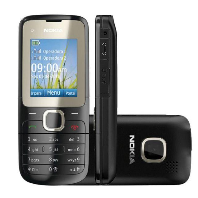 Điện Thoại Nokia C2-00 ( 2 Sim 2 Sóng, Thẻ Nhớ ) - Có pin và sạc kèm theo