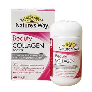 Viên uống đẹp da Beauty Collagen Booster Nature s Way của Úc, 60 viên thumbnail