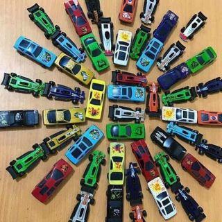 Set 50 ô tô sắt cho bé