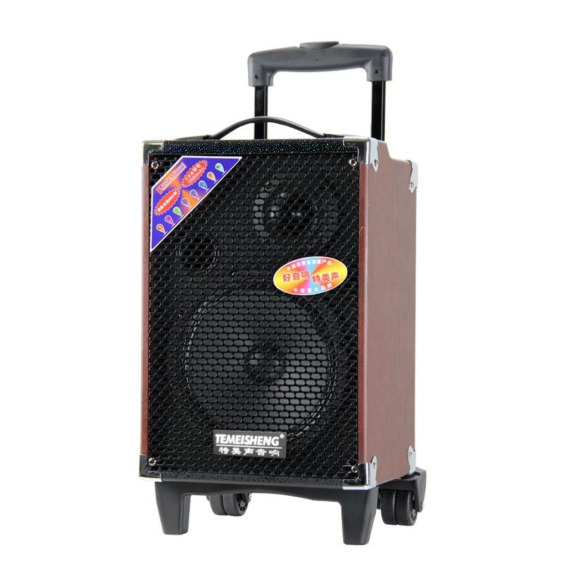 [Nhập mã GHNGIZEND giảm 30k] Loa bluetooth karaoke kẹo kéo Temeisheng Q8S xịn cực hay tặng 2 micro k