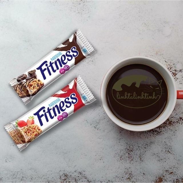 💃👯♀️ Ngũ cốc nestle Fitnesse chocola, dâu  hộp 376g /16 thanh