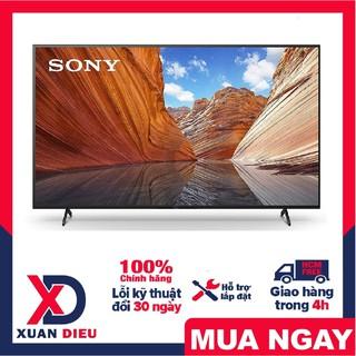 Tivi Sony 4K 43 inch KD-43X80J Mới 2021 Thiết kế tinh tế, màn hình tràn viền sang trọng