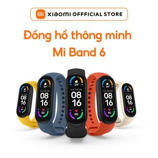 Vòng đeo tay thông minh Xiaomi Mi Band 6 | HÀNG CHÍNH HÃNG | BẢO HÀNH 12 THÁNG
