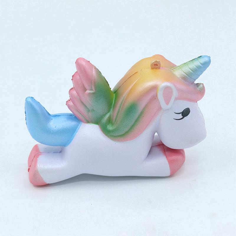Colorful Pegasus Squishy PU Squeeze Toy Children Gift
