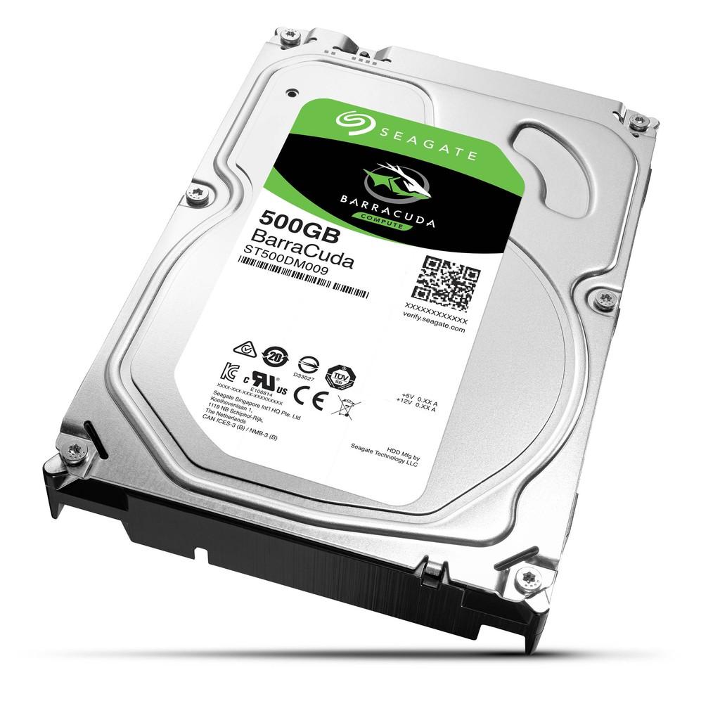 [Nhập ELCLMAY hoàn 30K xu đơn từ 200K]HDD Seagate 500G Sata3 Giá chỉ 450.000₫