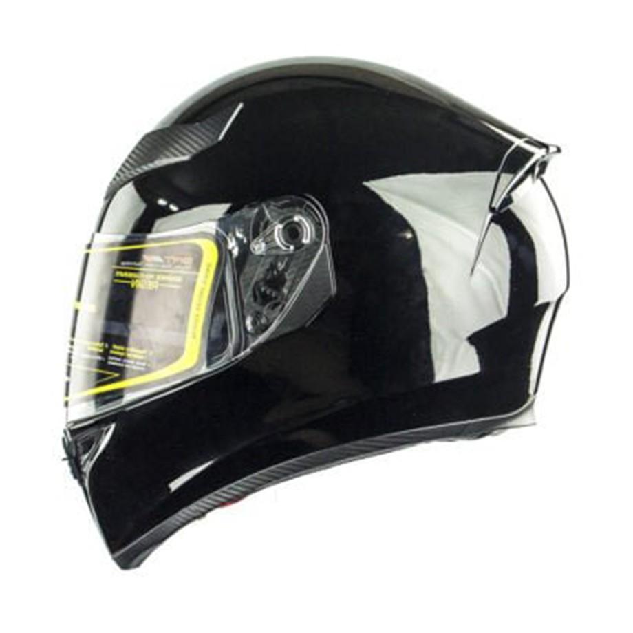 Kính màu bạc của mũ bảo hiểm fullface Royal m138b chính hãng - Kính tráng gương bạc của nón fullface m138b
