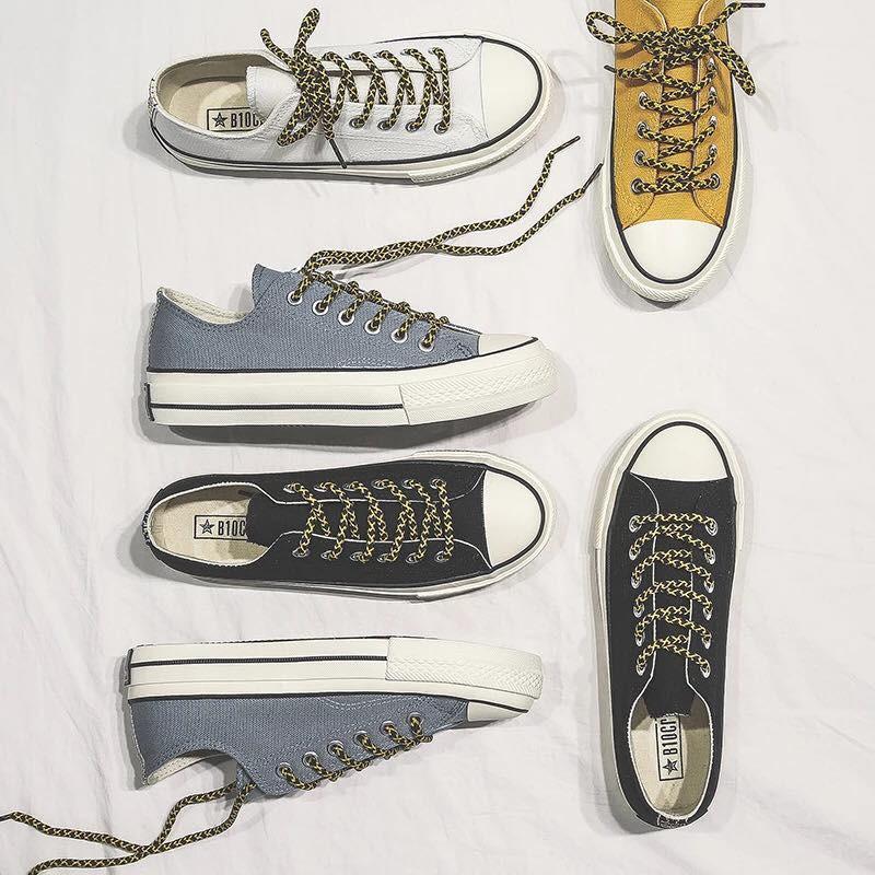 Giày Thể Thao Nữ Dây Thừng Kiểu Dáng Classic Tặng Kèm Dây Trắng