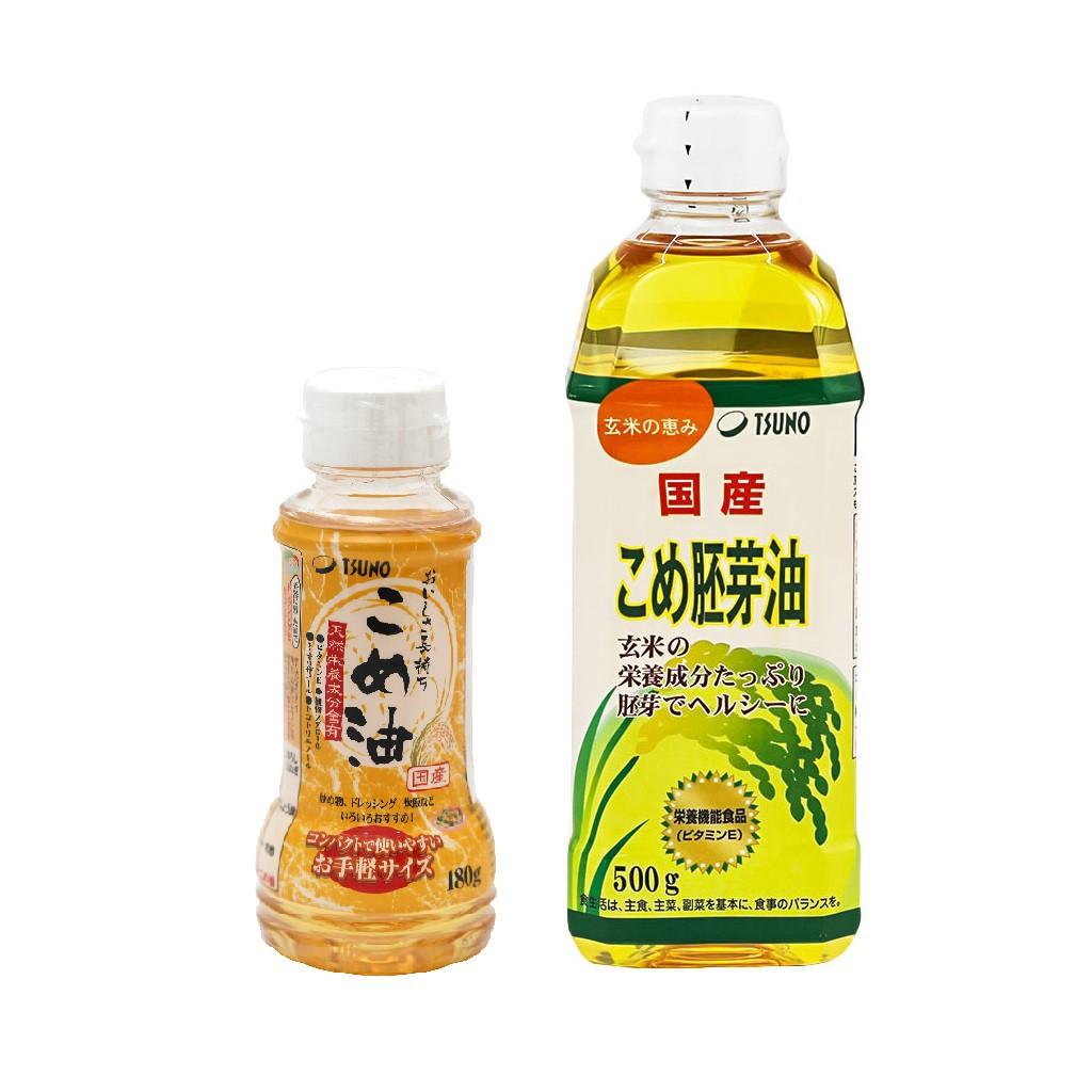 Dầu Gạo Cao Cấp TSUNO Nhật Bản Cho Bé Ăn Dặm Từ 6 Tháng Tuổi [HSD T7-T10/2021]