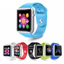 Đồng hồ thông minh Smart Watch A1 nghe gọi nghe nhạc như điện thoại màu xanh nước biển