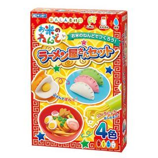 """Bộ đồ chơi đất nặn bằng bột gạo mẫu """"Tạo hình Mỳ Ý, sủi cảo"""" GINCHO Hàng Nhật"""