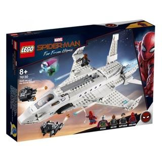 [CÓ SẴN] Lego UNIK BRICK 76130 Stark Jet and the Drone Attack trong Spider Man Far From Home – Người nhện xa nhà